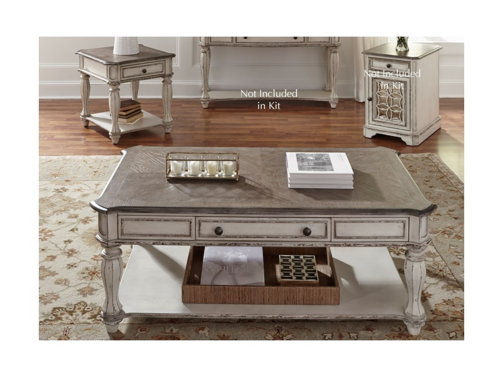 Liberty Furniture Magnolia Manor3 Piece Set