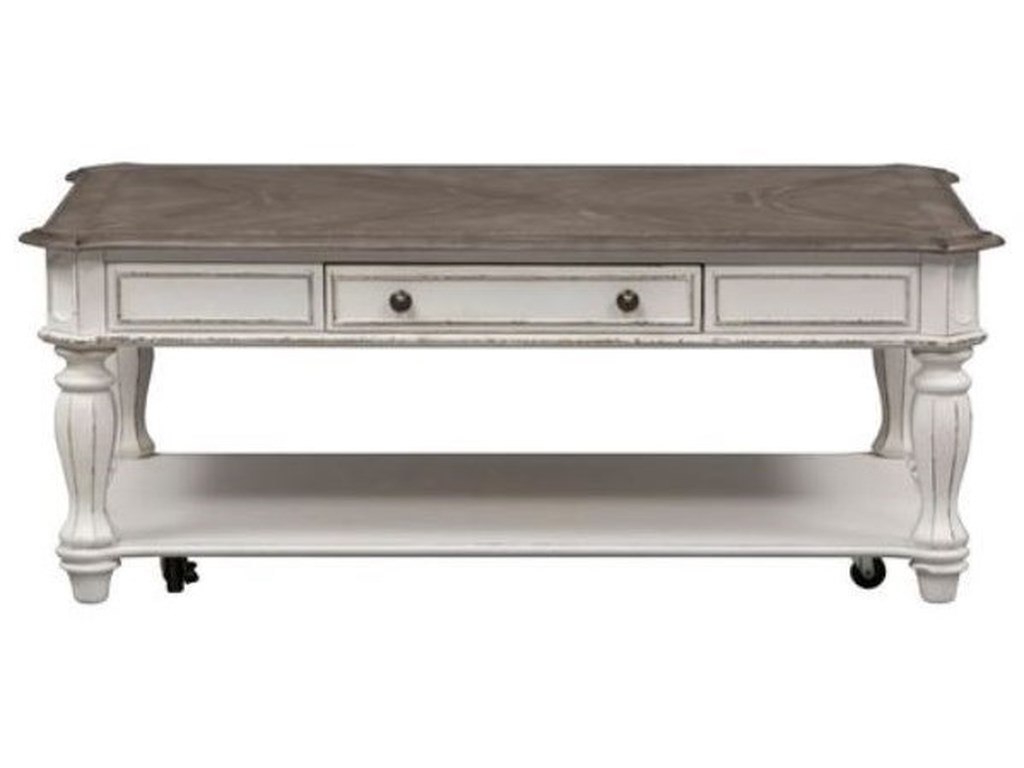 Liberty Furniture Magnolia ManorRectangular Cocktail Table