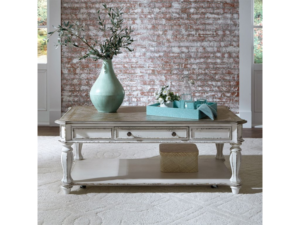 Liberty Furniture Magnolia ManorRectangular Cocktail Table
