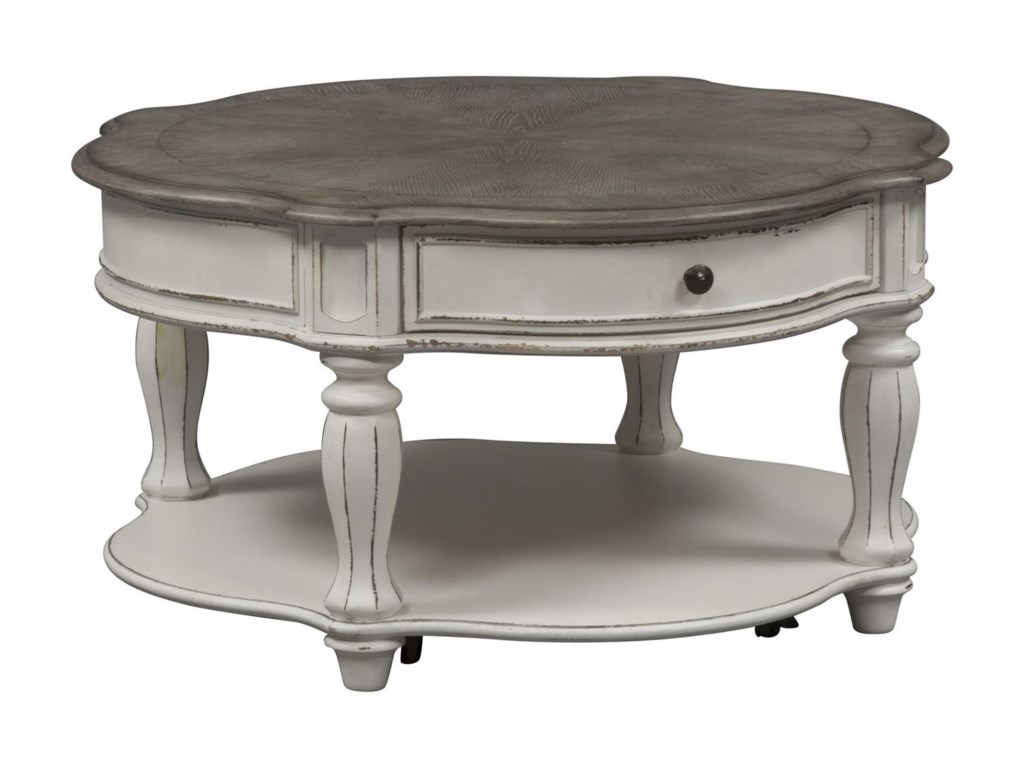 Liberty Furniture Magnolia ManorRound Cocktail Table
