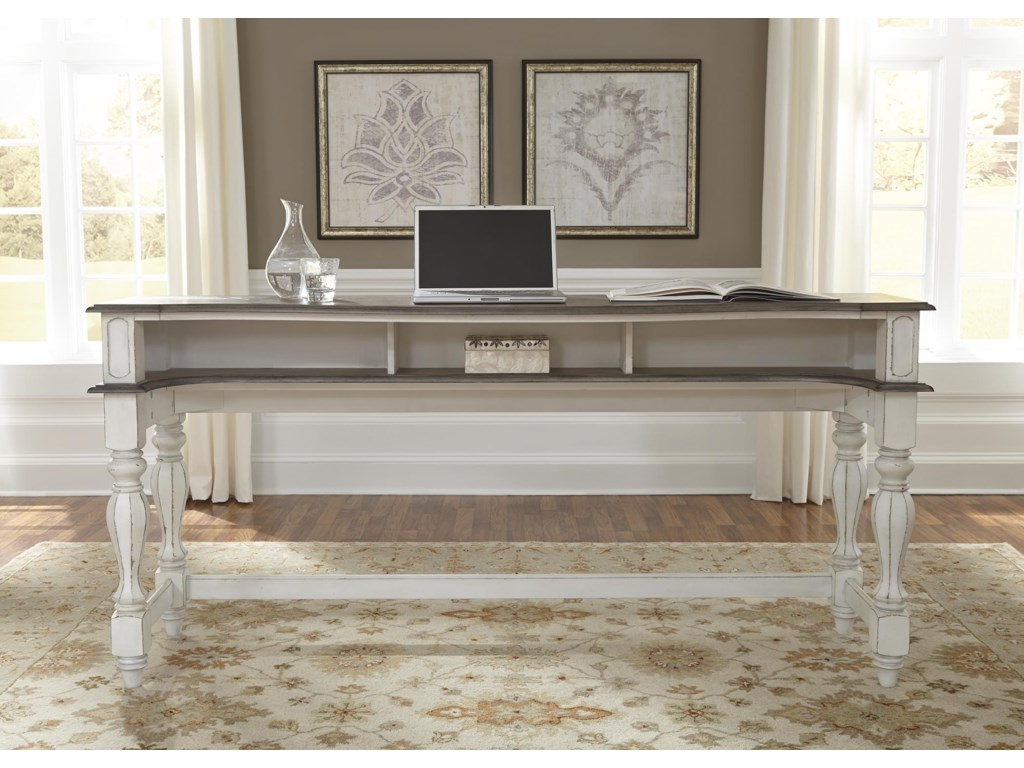 liberty furniture magnolia manor officeconsole table - Magnolia Office