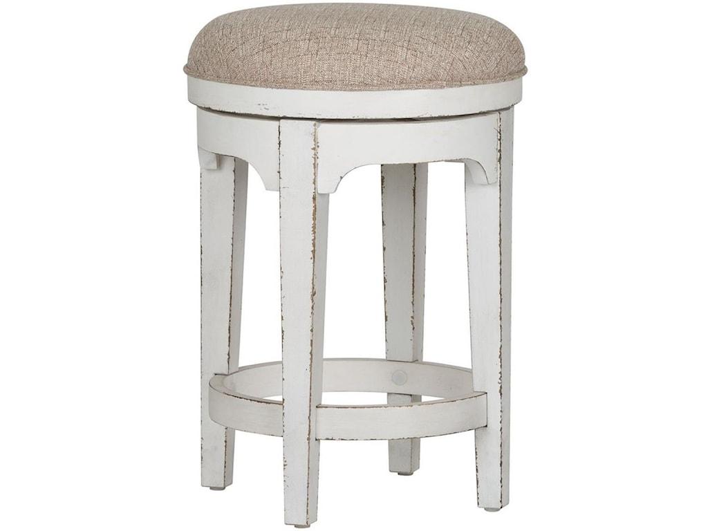 Liberty Furniture Magnolia ManorConsole Swivel Stool