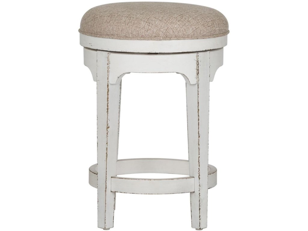 Liberty Furniture Magnolia ManorConsole Swivel Stool