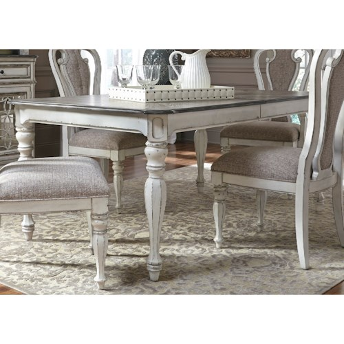 Liberty Furniture Magnolia Manor Dining Rectangular Leg