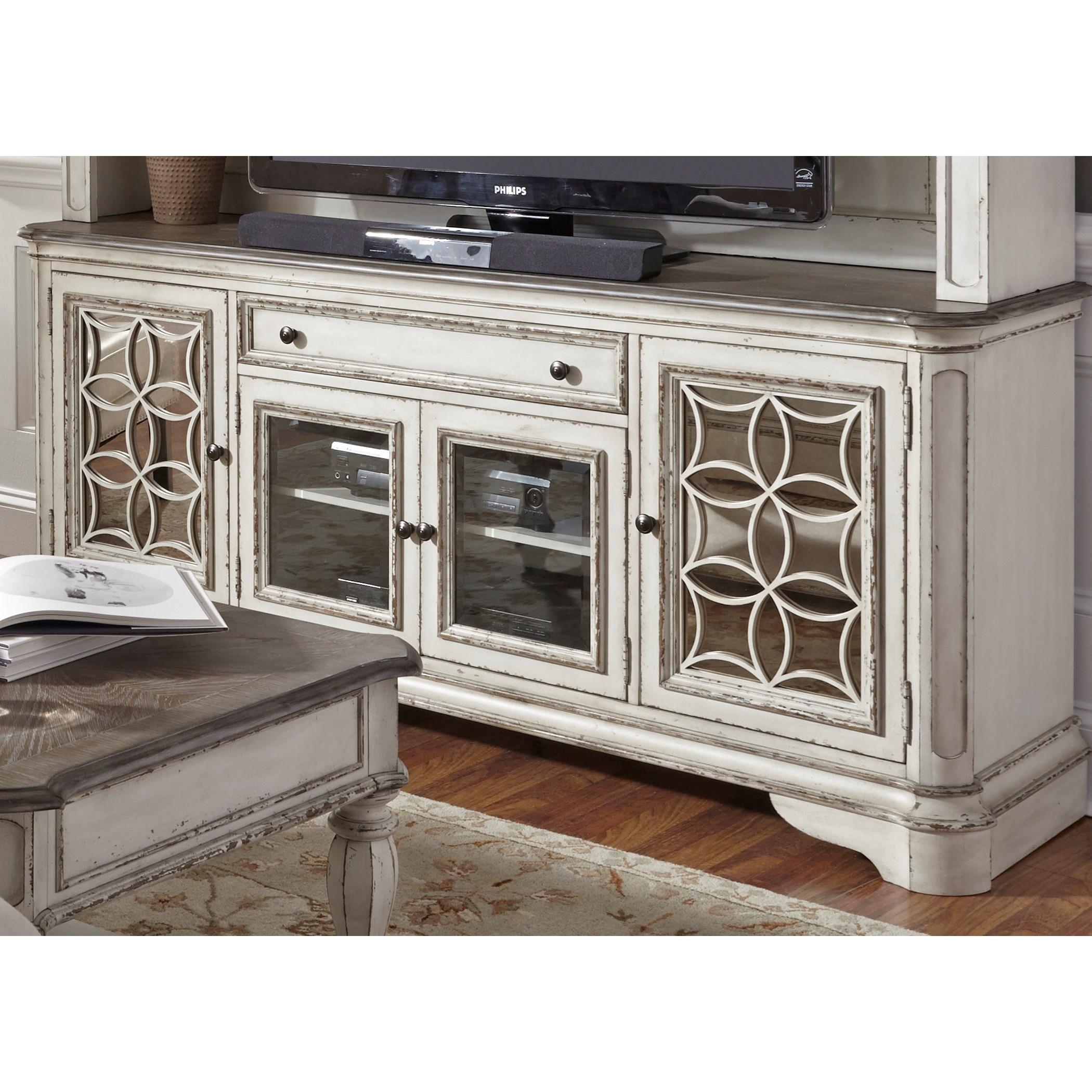 Liberty Furniture Magnolia ManorEntertainment TV Stand ...