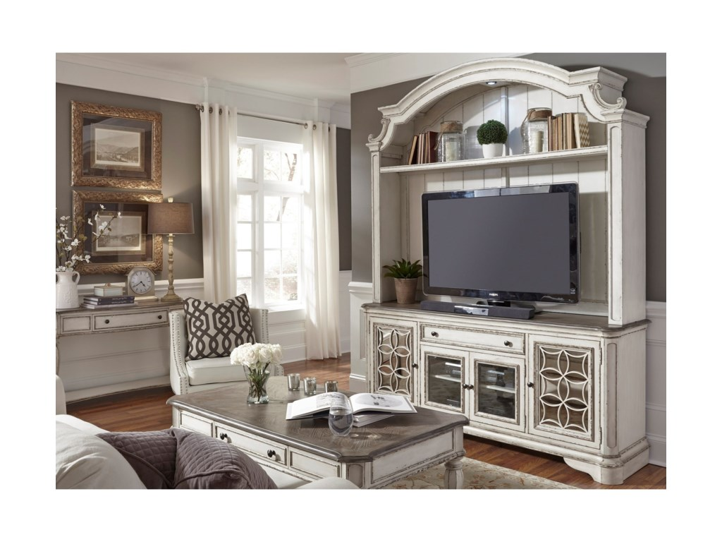 Liberty Furniture Magnolia ManorEntertainment TV Stand