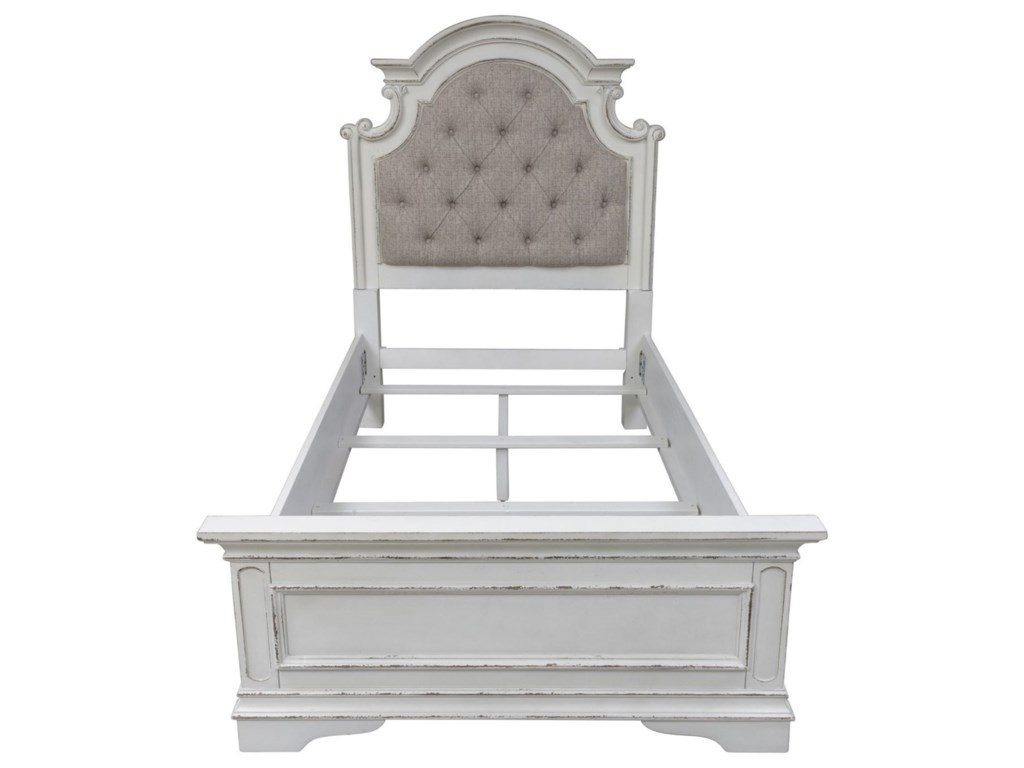 Liberty Furniture Magnolia ManorTwin Upholstered Bed