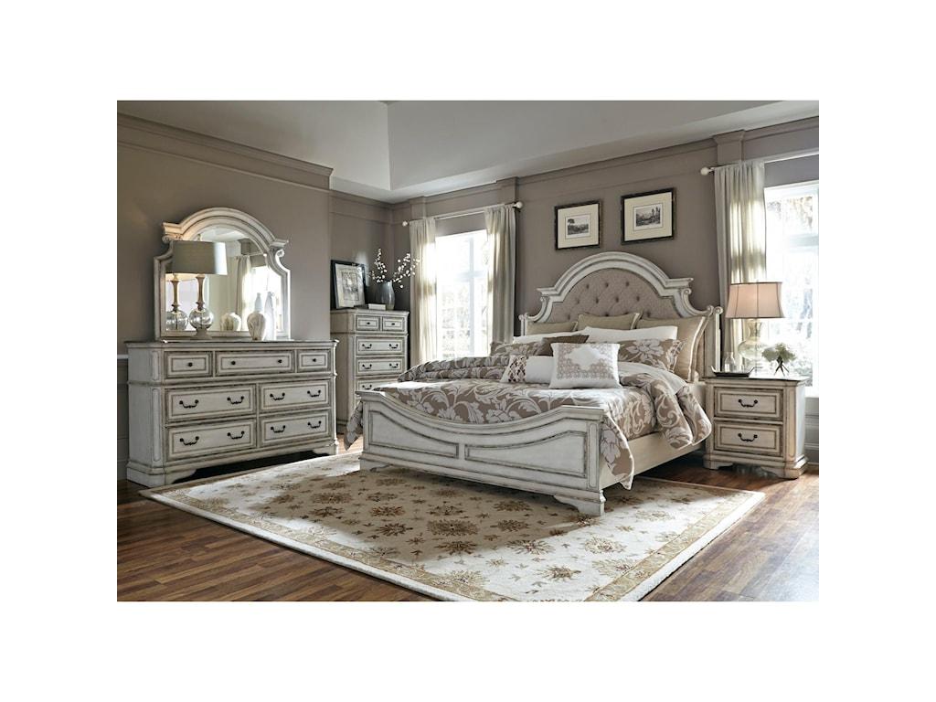 Liberty Furniture Magnolia Manor 3 Piece Bedroom Set Includes King ...