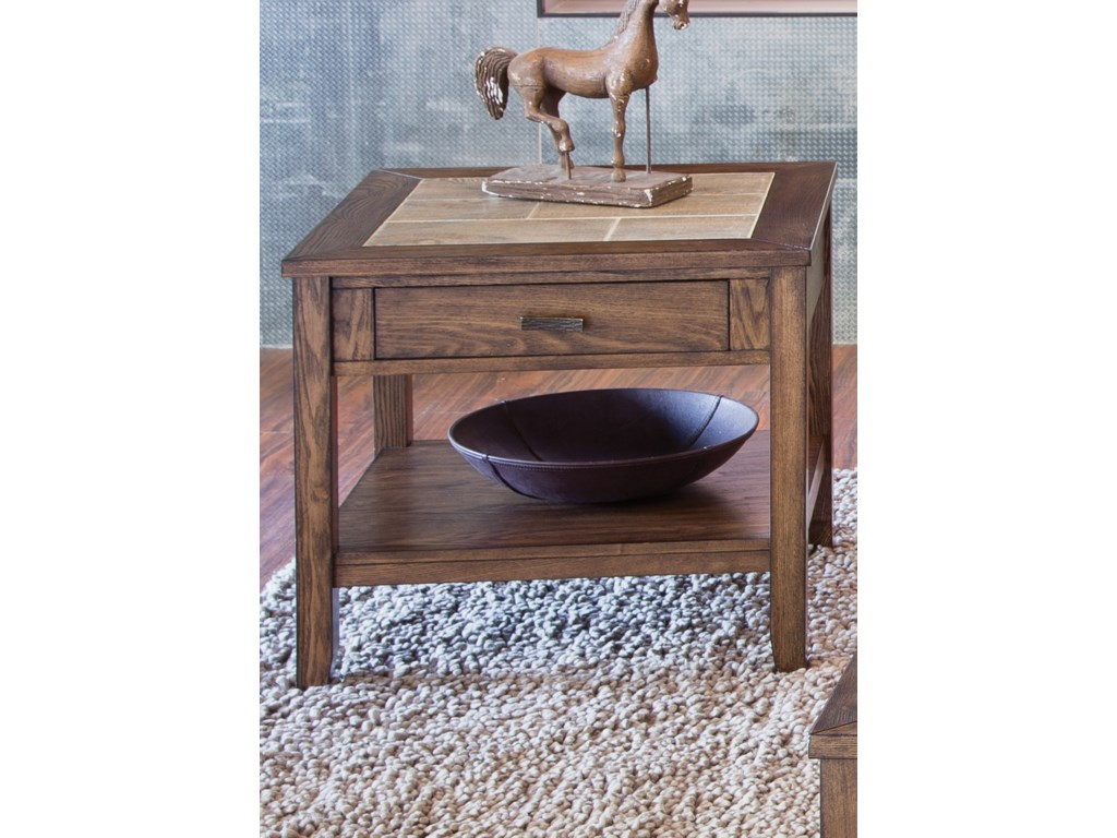 Liberty Furniture Mesa Valley OccasionalEnd Table