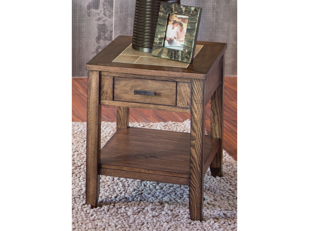 Liberty Furniture Mesa Valley OccasionalChair Side Table