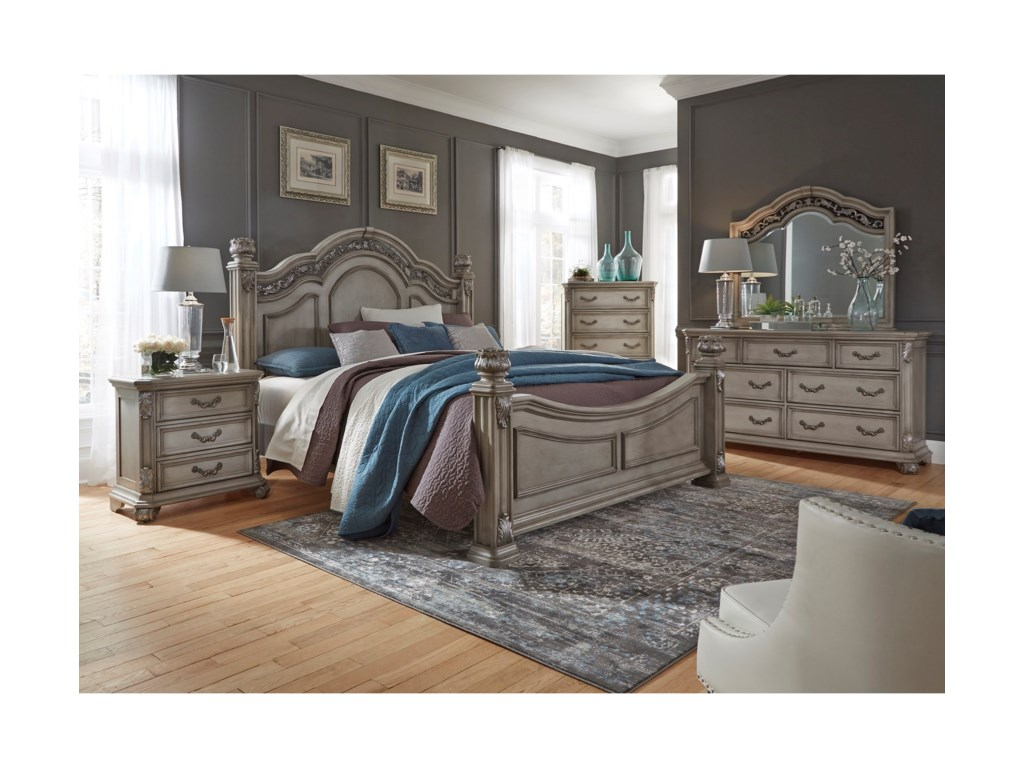 Liberty Furniture Messina Estates BedroomKing Bedroom Group