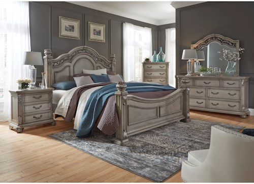 Liberty Furniture Messina Estates Bedroom King Bedroom Group