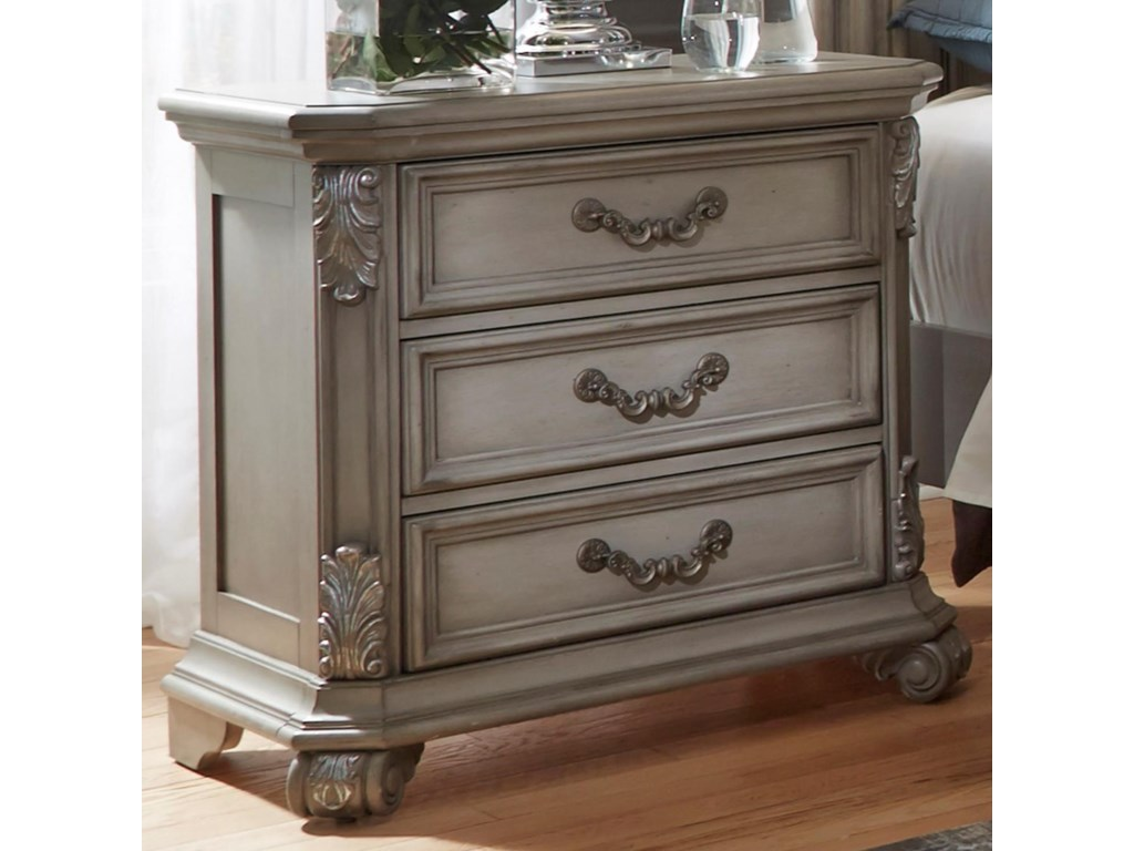 Liberty Furniture Messina Estates Bedroom3 Drawer Night Stand