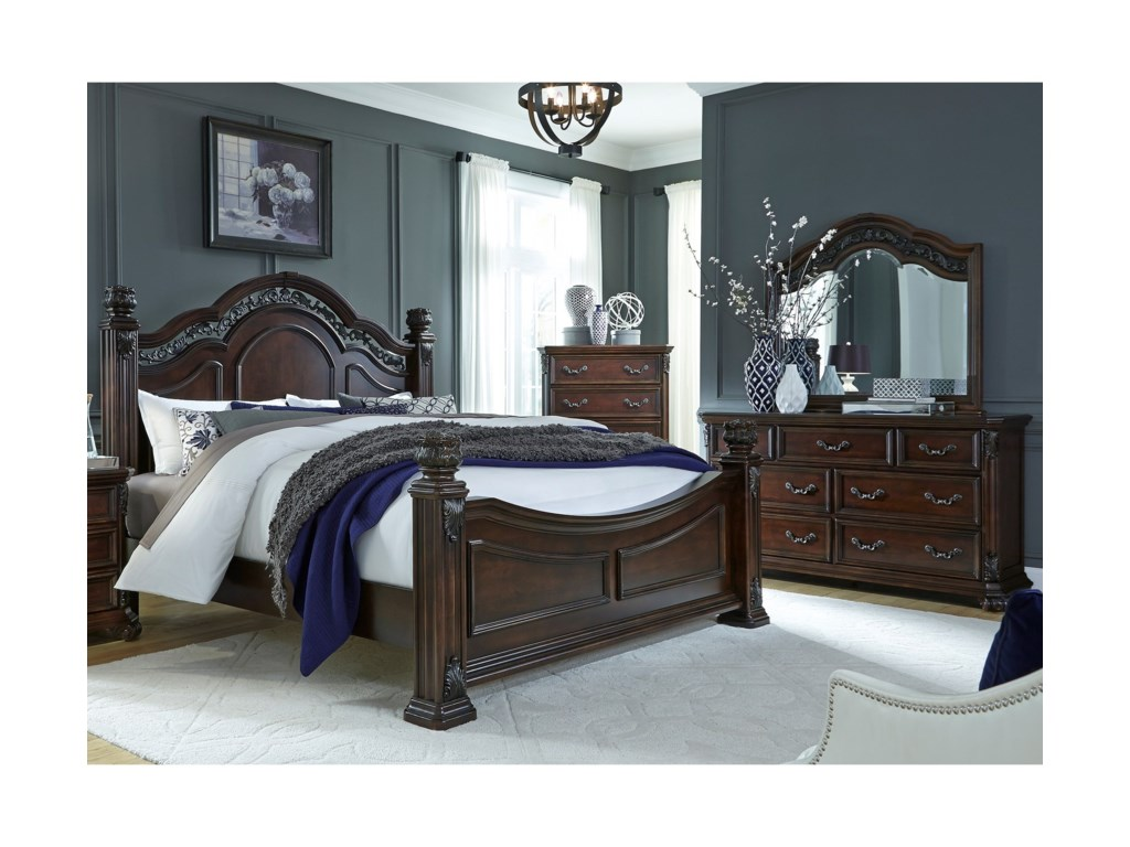 Liberty Furniture Messina EstatesKing Bedroom Group