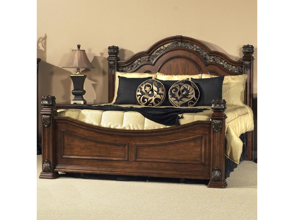 Liberty Furniture Messina EstatesKing Poster Bed