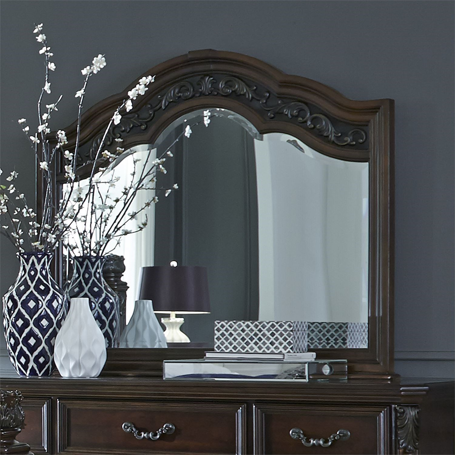 Superior Shown With Dresser; Liberty Furniture Messina EstatesMirror