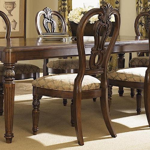 Liberty Furniture Messina Estates Splat Back Dining Side Chair
