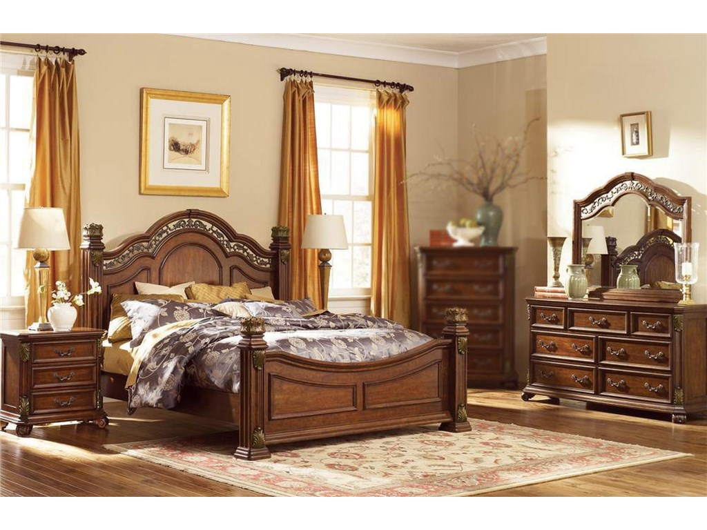 Liberty Furniture Estella4PC King Bedroom Set