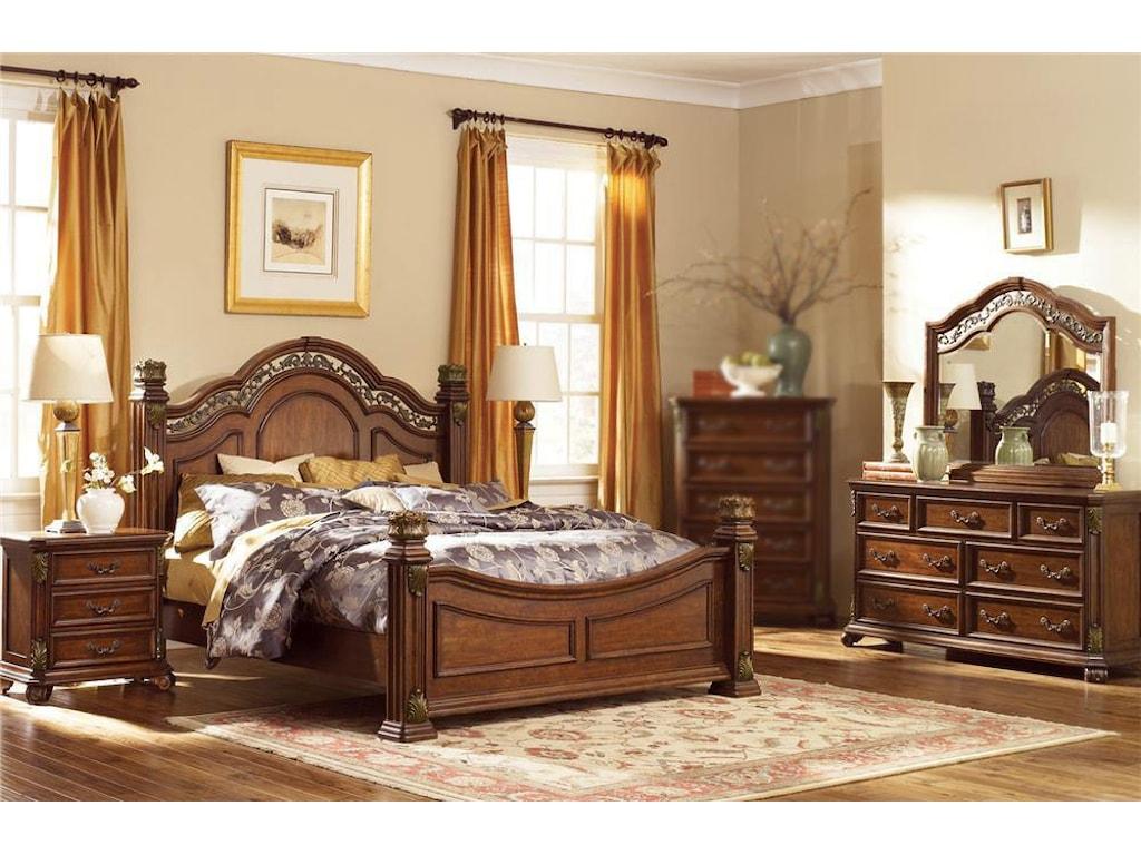 Liberty Furniture Estella4PC Queen Bedroom Set