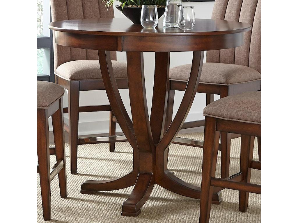 Liberty Furniture Mirage DiningRound Gathering Table