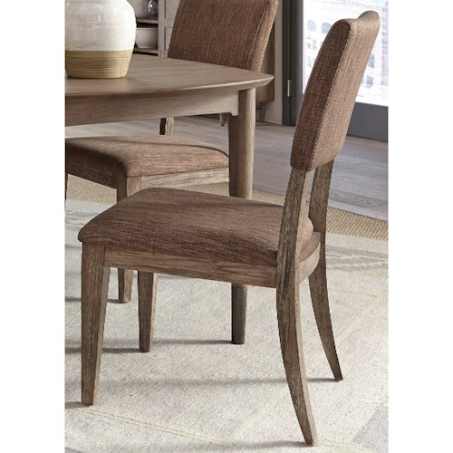 Liberty Furniture Miramar Upholstered Side Chair Pilgrim Furniture City Dining Side Chairs