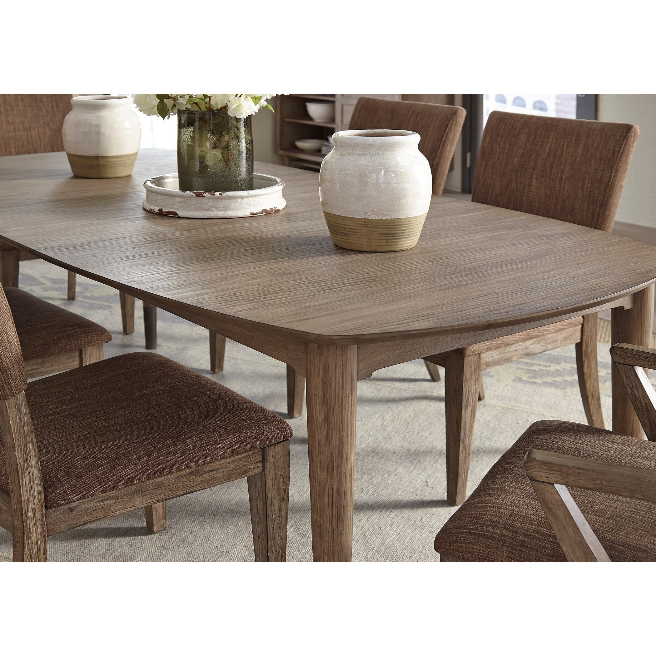 Charming Miramar Oval Leg Table With Leaf By Liberty Furniture