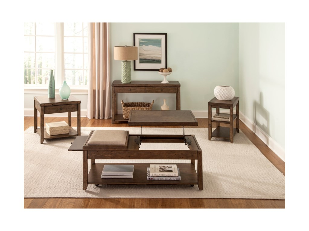 Liberty Furniture Mitchell OccasionalOccasional Table Group
