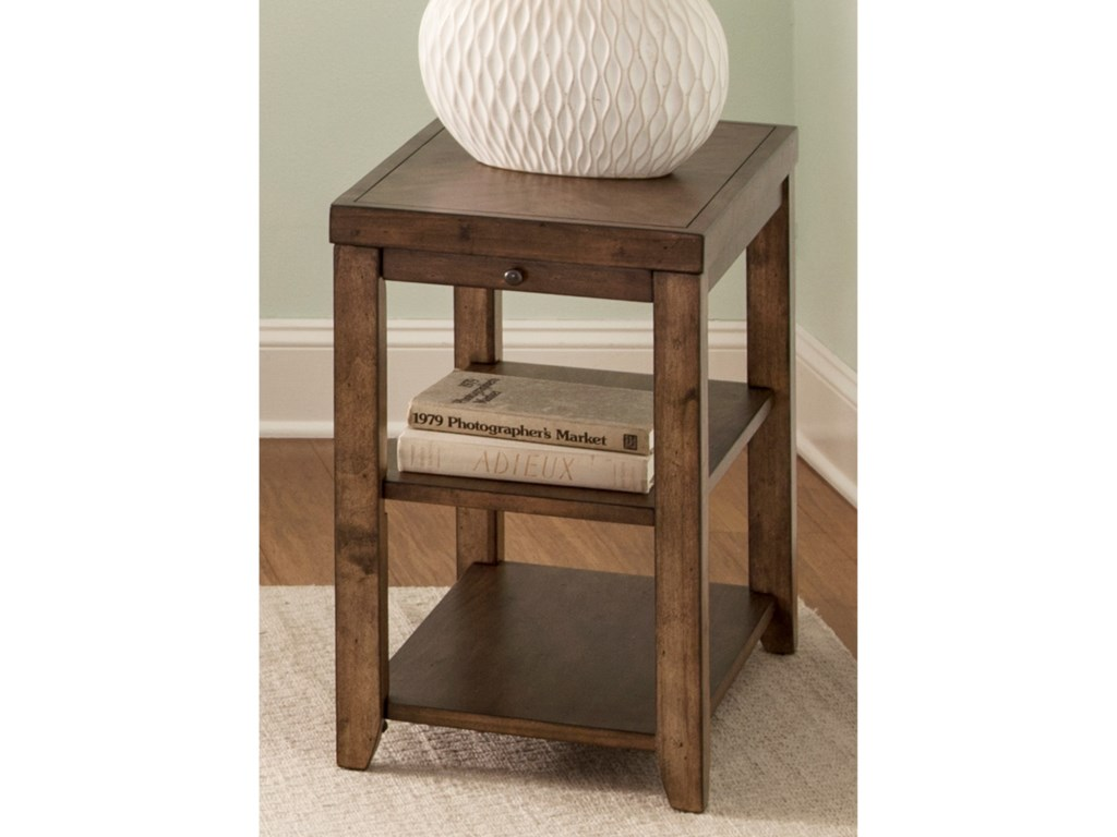 Liberty Furniture Mitchell OccasionalChairside Table