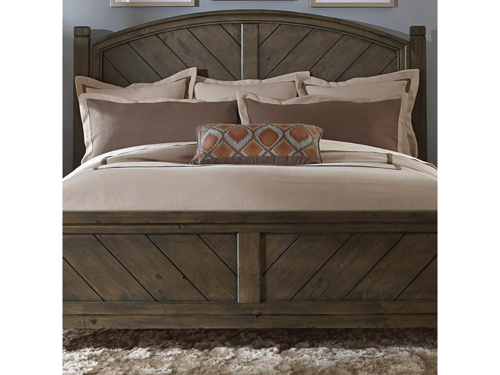 Liberty Furniture Modern CountryQueen Poster Headboard