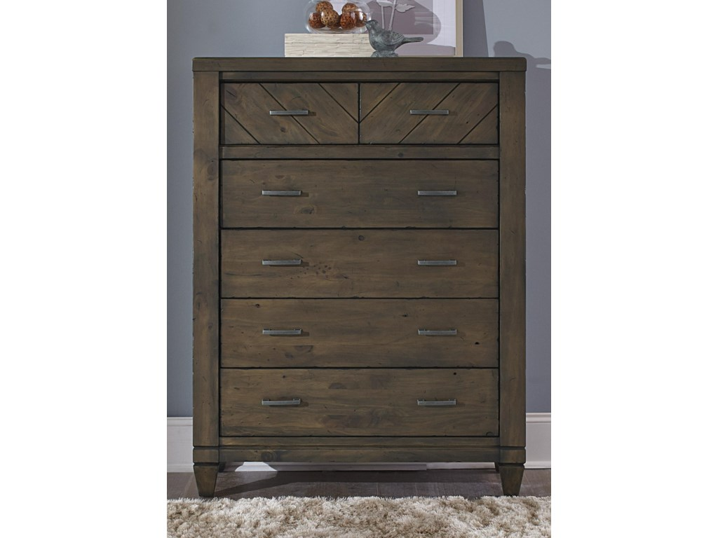 Liberty Furniture Modern Country6 Drawer Chest