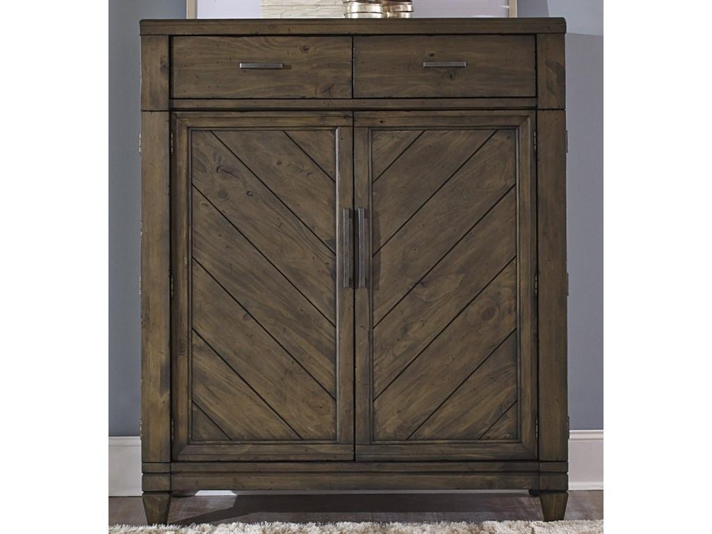 Liberty Furniture Modern Country2 Door 2 Drawer Chest