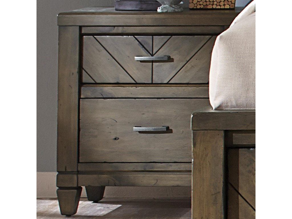Liberty Furniture Modern Country2 Drawer Night Stand