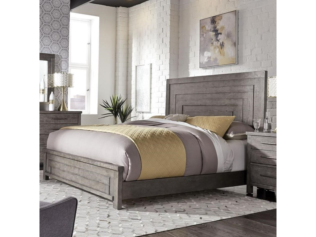 Liberty Furniture Modern FarmhouseKing Low Profile Bed