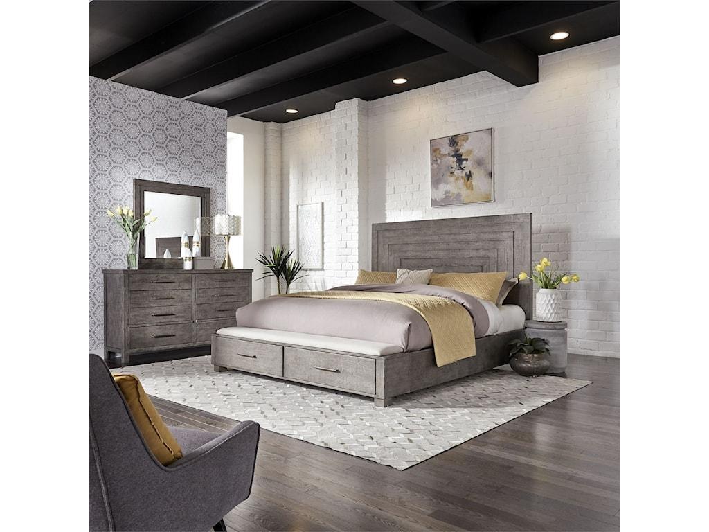 Liberty Furniture Modern FarmhouseKing Bedroom Group