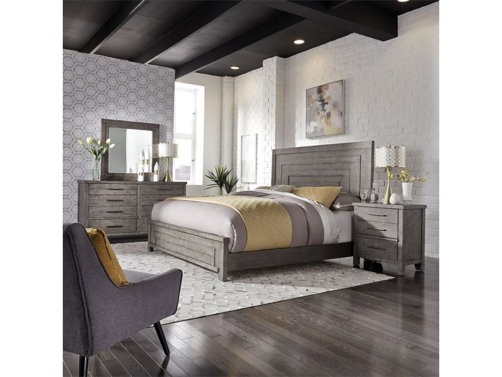 Sarah Randolph Designs Modern FarmhouseQueen Bedroom Group