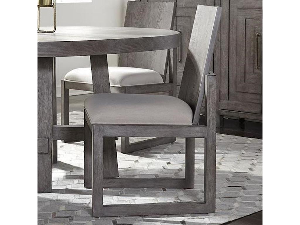 Liberty Furniture Modern FarmhousePanel Back Side Chair