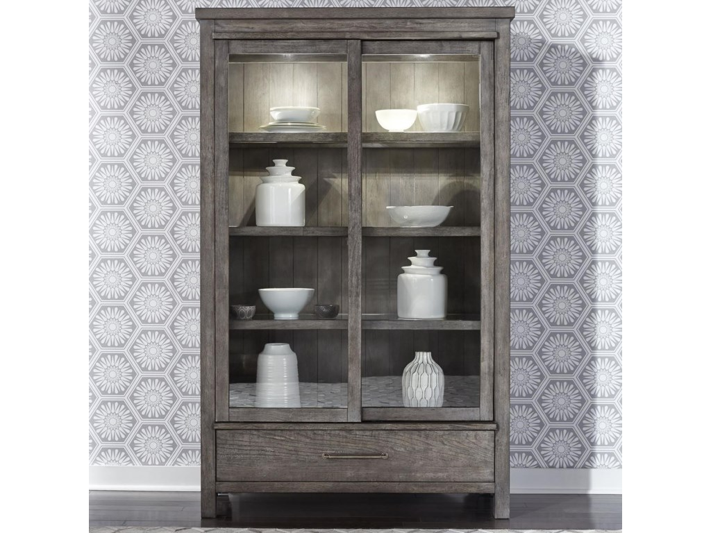 Liberty Furniture Modern FarmhouseDisplay Cabinet