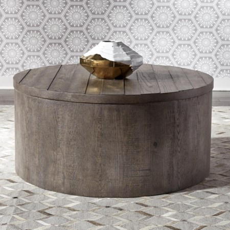 Drum Cocktail Table