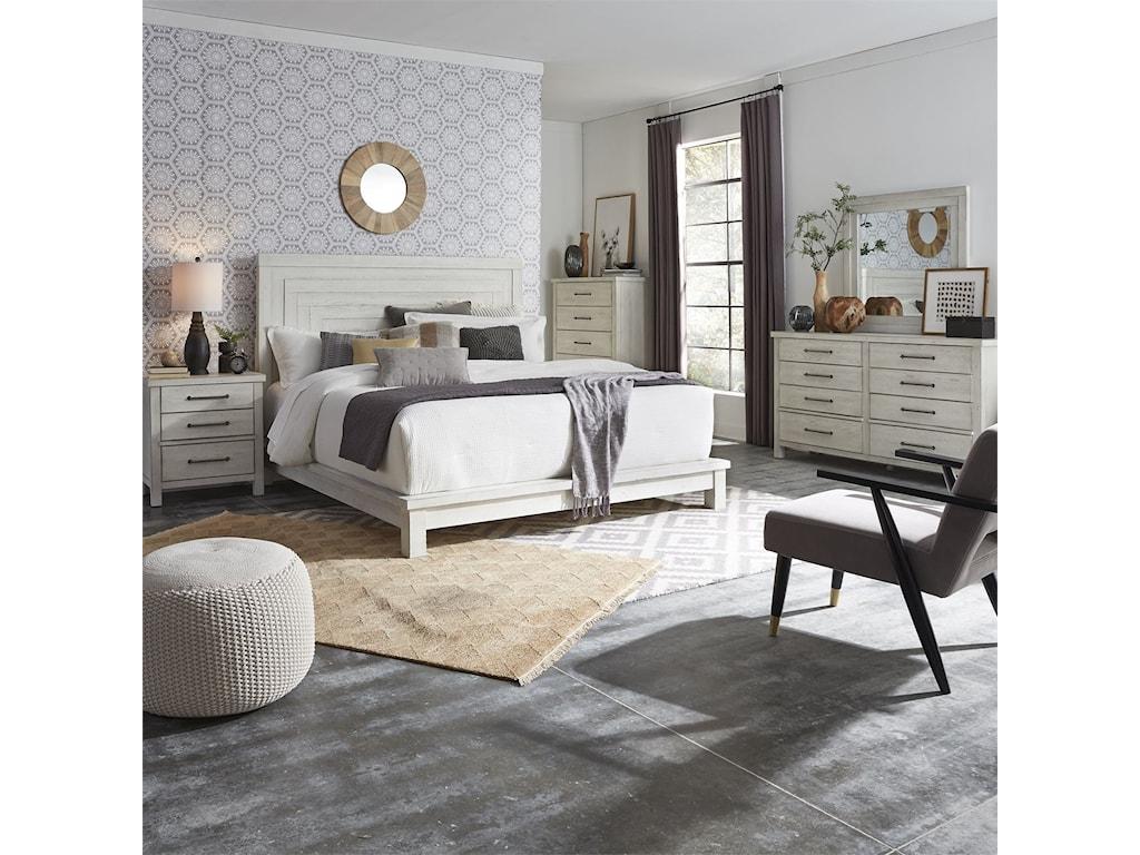 Liberty Furniture Modern FarmhouseQueen Bedroom Group