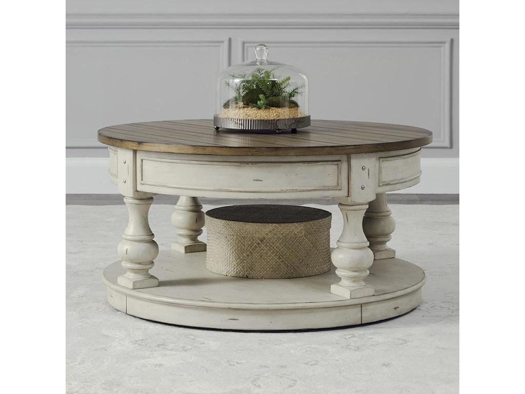 Liberty Furniture Morgan CreekRound Cocktail Table