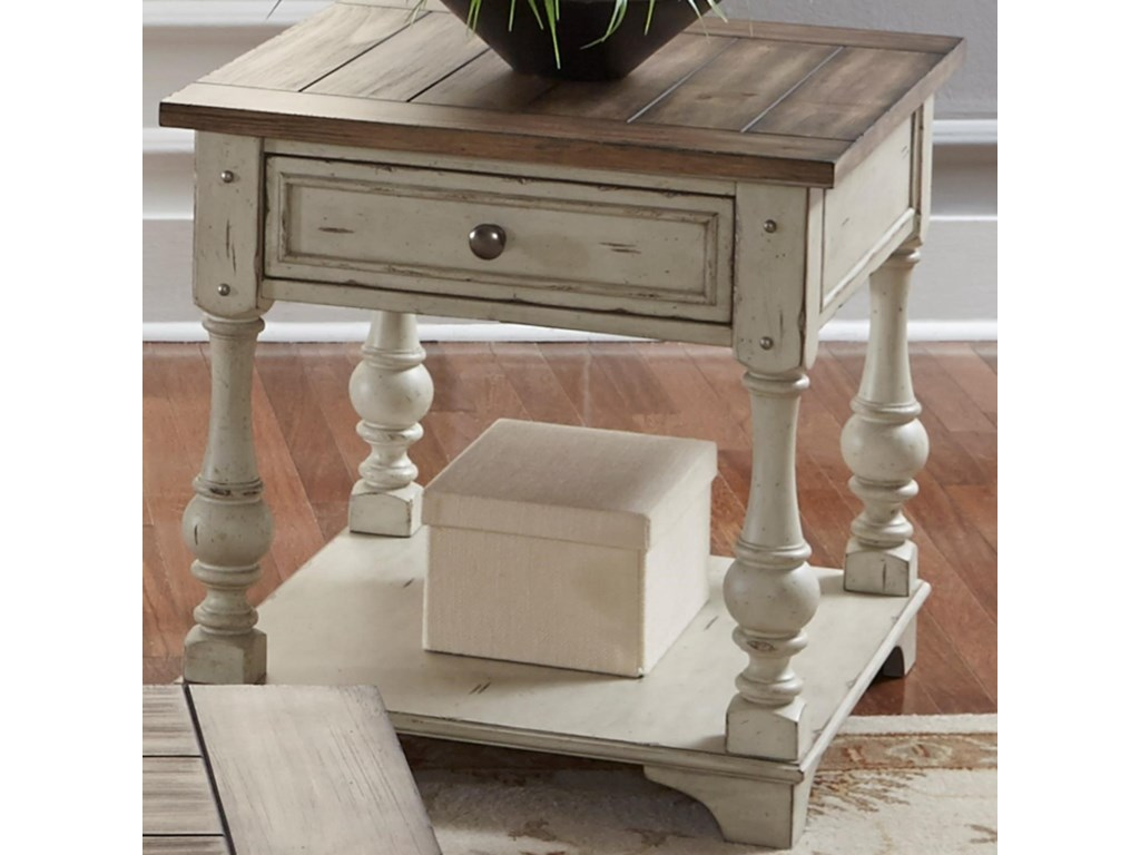 Liberty Furniture Morgan CreekEnd Table