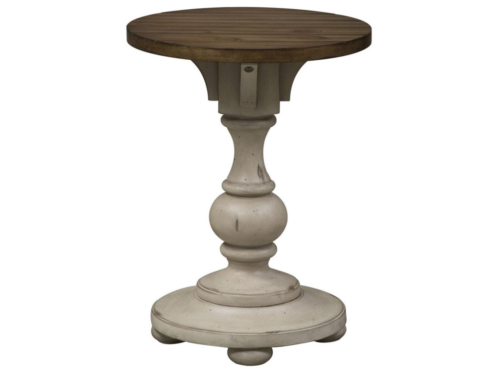 Liberty Furniture Morgan CreekChair Side Table
