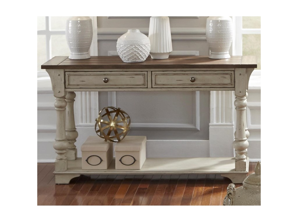 Liberty Furniture Morgan CreekSofa Table