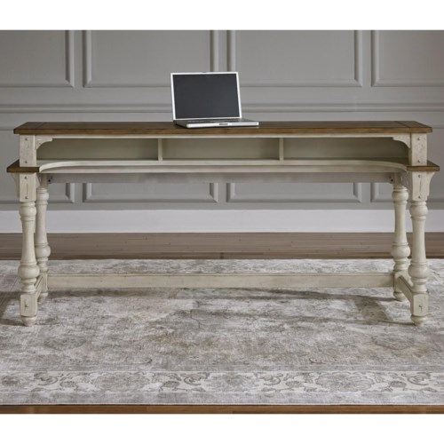 Minimalist Liberty Furniture Morgan Creek Relaxed Vintage Console Table with Storage Elegant - Amazing 36 console table For Your Plan