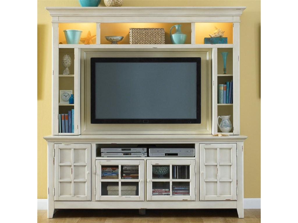 Liberty Furniture New Generation 840 Ent Enc Painted Entertainment