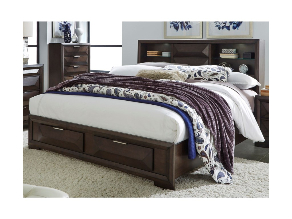 Liberty Furniture NewlandKing Bookcase Bed
