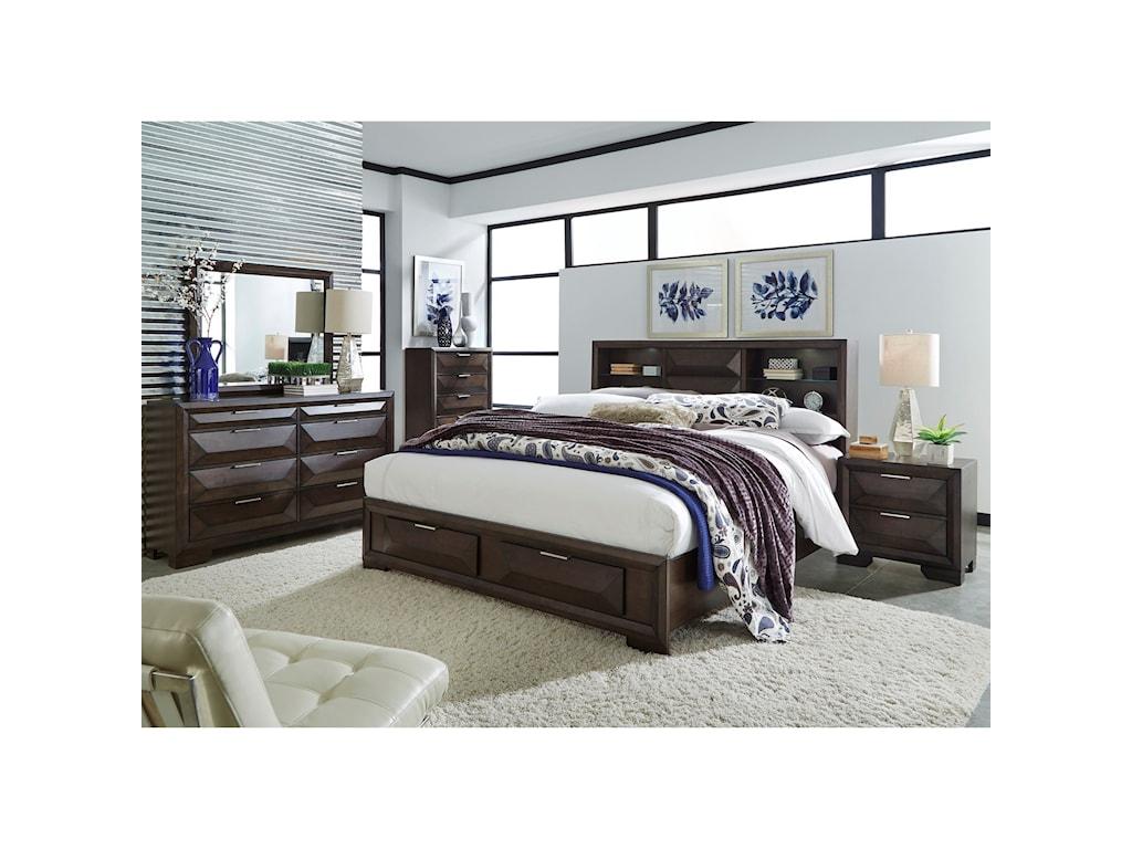 Liberty Furniture NewlandQueen Bookcase Bed
