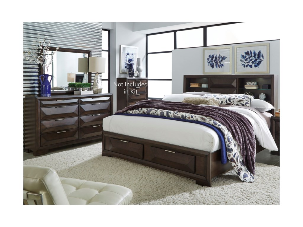 Liberty Furniture NewlandQueen Bedroom Group