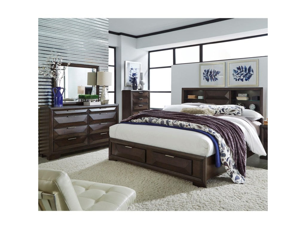 Liberty Furniture NewlandQueen Bedroom Group