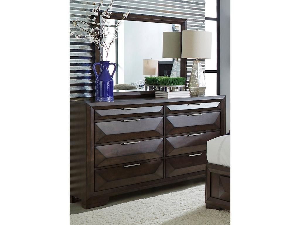 Liberty Furniture NewlandEight Drawer Dresser